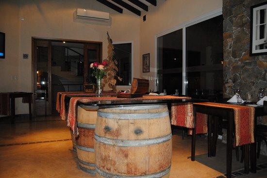 Villa Mansa Wine Hotel & Spa : Dinner