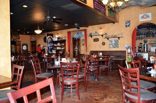 Sandra's Restaurant : inside SANDRA's