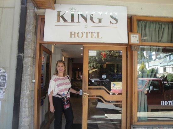 Hotel King's Bariloche: Hotel simples, mas muito bem localizado e preço justo