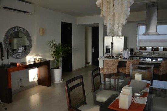 Marival Residences Luxury Resort Nuevo Vallarta: Estancia totalmente equipada