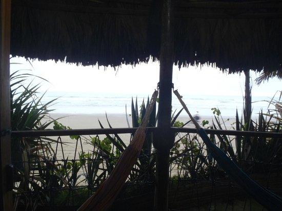 Cuna Luna Sea Lodge: Vista desde el balcón de la habitación