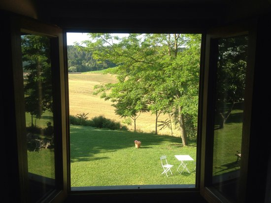 Il Vignolino Bed & Breakfast: Dalla finestra della camera