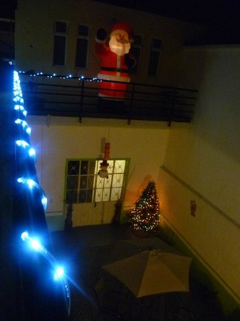 Hostel del Refugio : Chrismas decorations