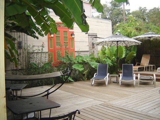 Maison de Macarty: Back Garden