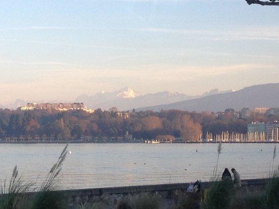 Hotel President Wilson: Mont Blanc desde el Wilson