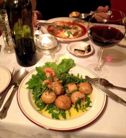 Giovanni's Restaurant: Starters