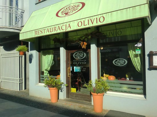 Restauracja Olivio: Olivio Restaurant_ main entrance.