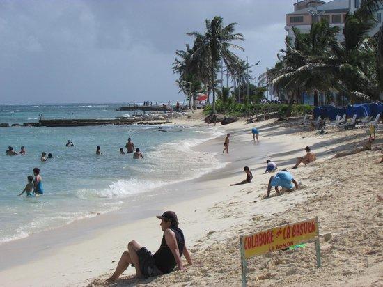Hotel Casablanca: playa