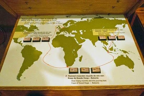 Museo Marítimo Nacional: VOC route