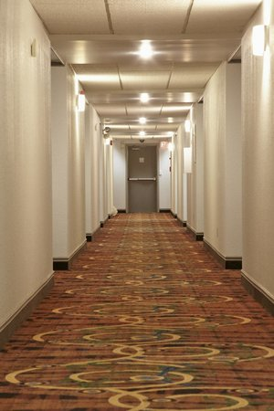 Colonial Square Inn & Suites: Hallway