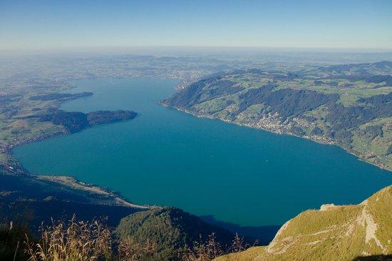 Mt. Rigi: Vista para o Lago de Lucerna