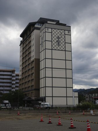 Takayama Ouan: Hotel and parking tower
