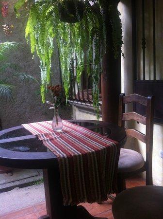 Las Iglesias Hotel Antigua: Uno de los tantos lugares que hay para desayunar