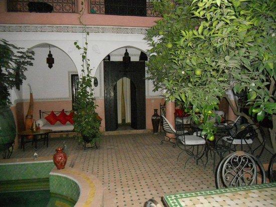 Riad Bousskri: Le patio