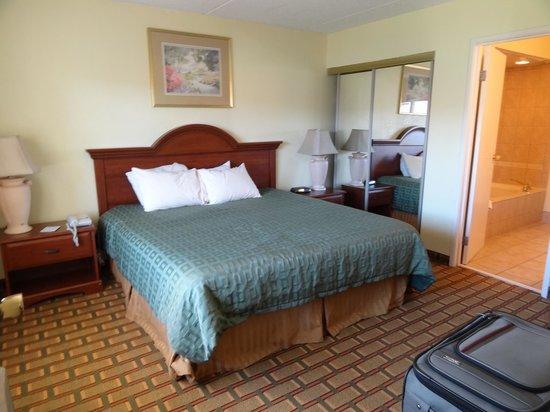 Ramada Asheville Southeast : bedroom