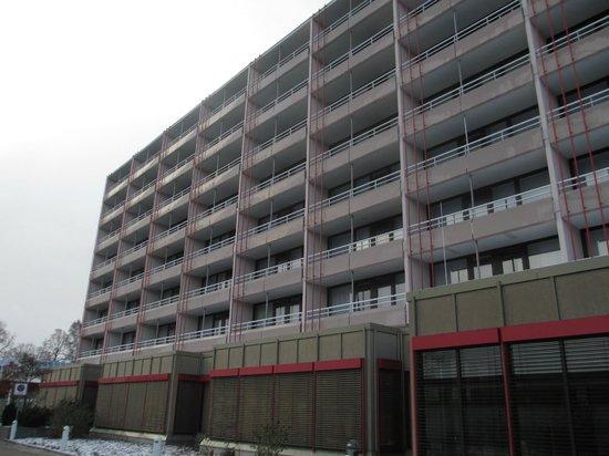 Seminaris Hotel Luneburg: Betonbau