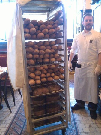 Can Can Brasserie : Fresh backed bread