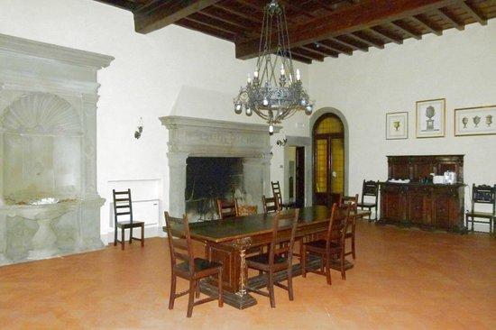 Villa Camilla: l'interno