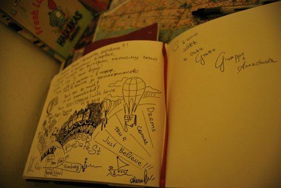 Gaia Hostel: diario degli ospiti