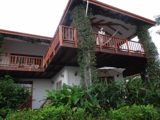 Chabil Mar: View of balcony