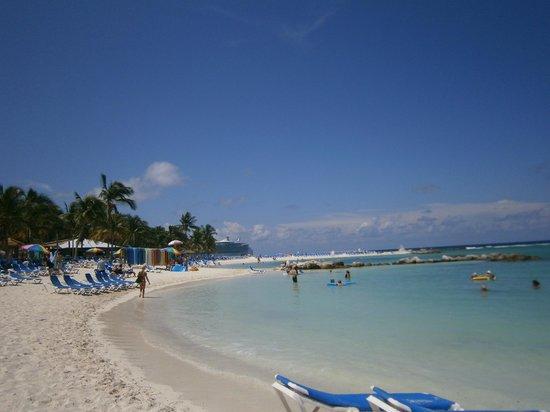 Bahamas: atrás, el crucero