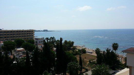 Sun Maritim: View from the top's floor balcony