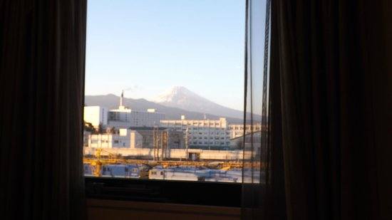 Dormy Inn Mishima: 部屋から富士山