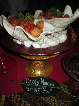 Lara Djonggrang: shrimp ball