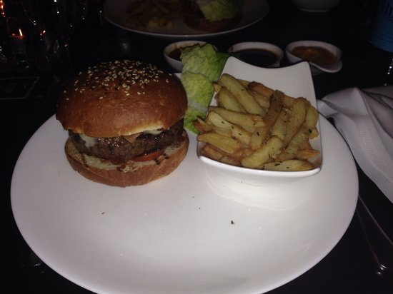 Gaucho Manchester: Burger £15.50, was ok but I've had better