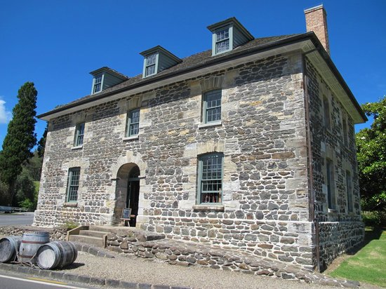 The Stone Store & Kemp House - Kerikeri Mission Station : The Stone Store - once a post office, library and barracks