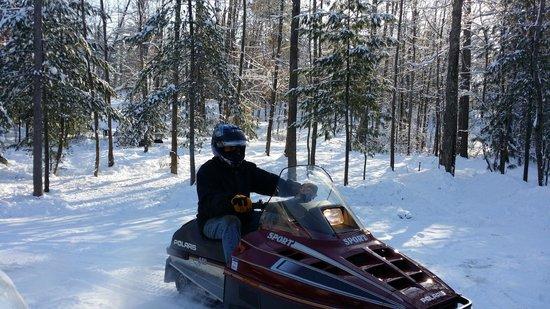 Cedaroma Lodge: Snow Ready!