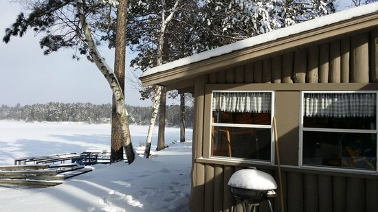 Cedaroma Lodge: Sunny winter days are just brilliant