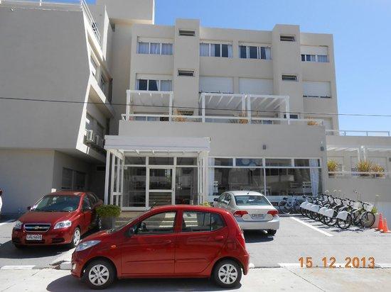Atlantico Boutique Hotel: Frente do hotel