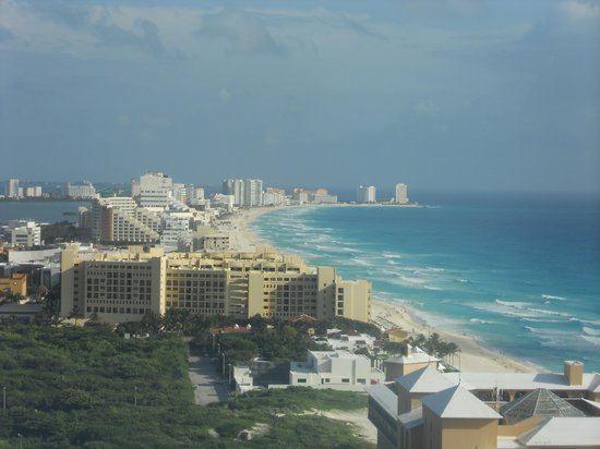Secrets The Vine Cancun : view from room north