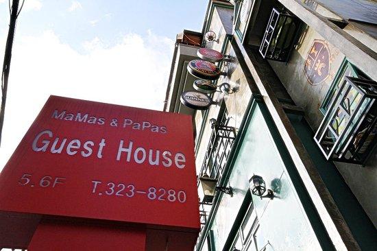 Mamas & Papas Hongdae Guesthouse: exterior