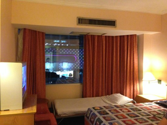 Bangkok City Inn : Delux Room on high floor have the best view