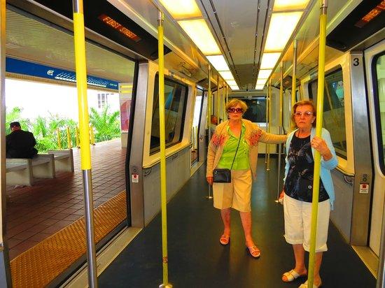 Metromover: Interior del MM.