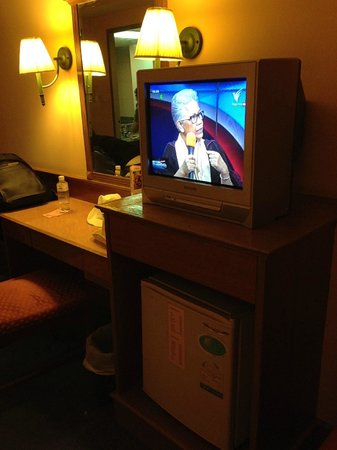 Bangkok City Inn: Discovery channel provided....