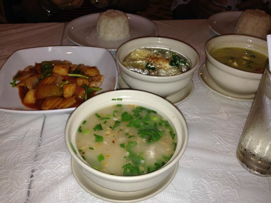 The best free dinner from Bangkok City Inn