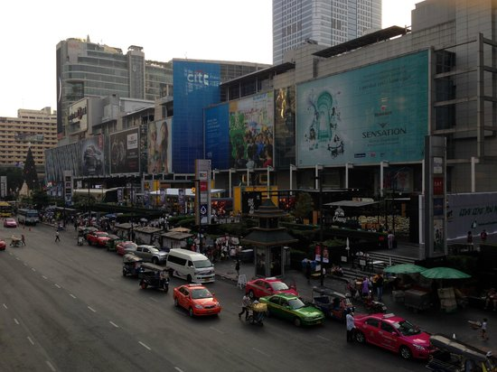 Bangkok City Inn: The shopping malls near hotel
