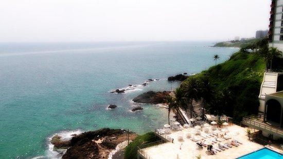 Ondina Apart Hotel: vista mar...