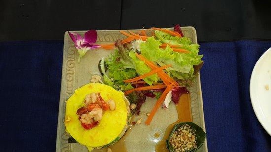 Sojourn Boutique Villas : delicious lunch