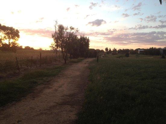 Ramada Resort Phillip Island: sunset