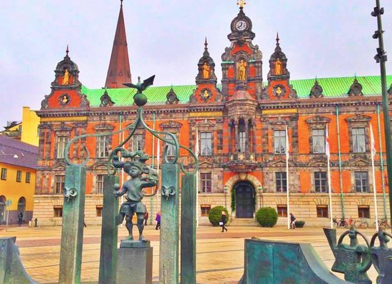 Malmo City Hall: Beautiful Building