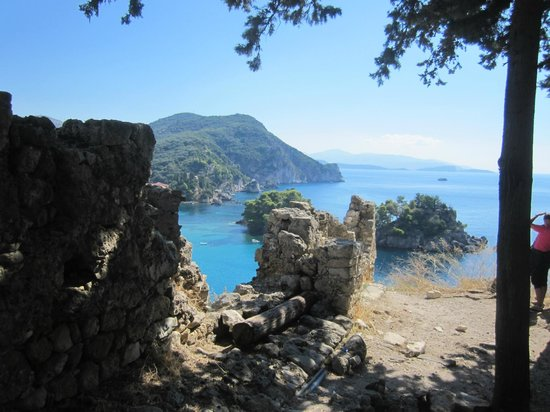 Venetian Castle of Parga: Vista do castelo.
