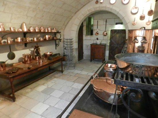 Château de Chenonceau : The Kitchens
