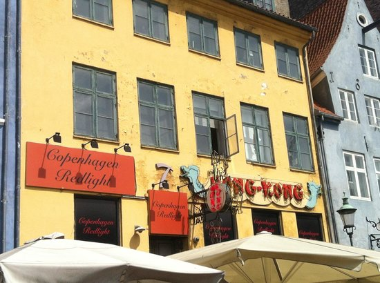 The only remaining brothel in Nyhavn