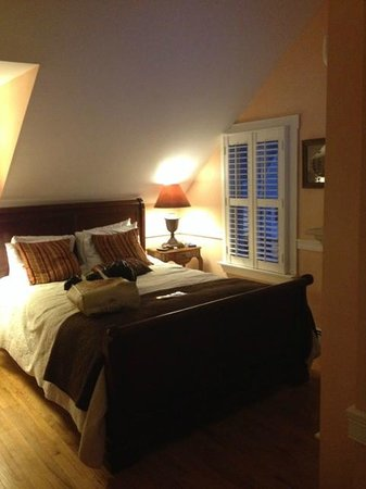 Carpe Diem Guesthouse & Spa : Queen size bed
