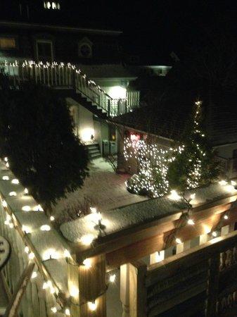 Carpe Diem Guesthouse & Spa: Overlooking the courtyard