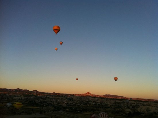 Goreme Balloons : the view